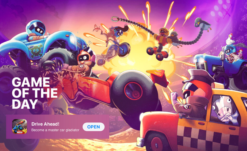 Dodreams' mobile game Apple's Game of the Day